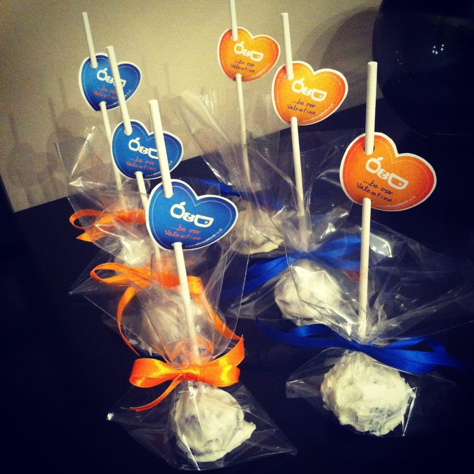 Ollie And Darsh Valentine Cake Pops 2