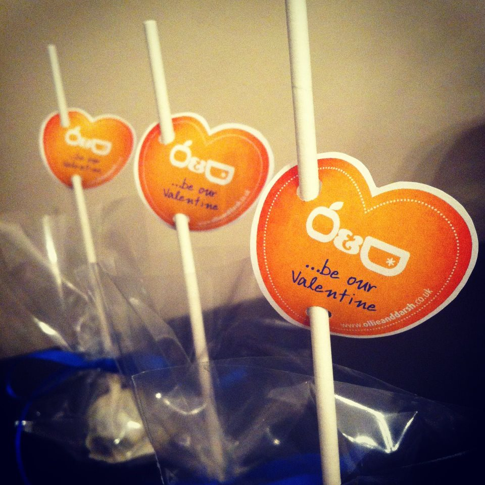 Ollie And Darsh Valentine Cake Pops 3