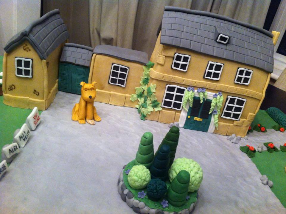 Bespoke House Cake And Grounds 1