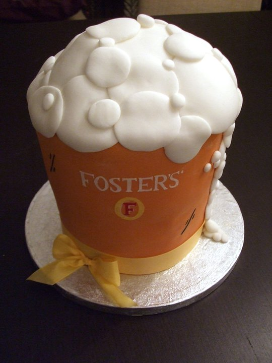 Fosters Beer Cake