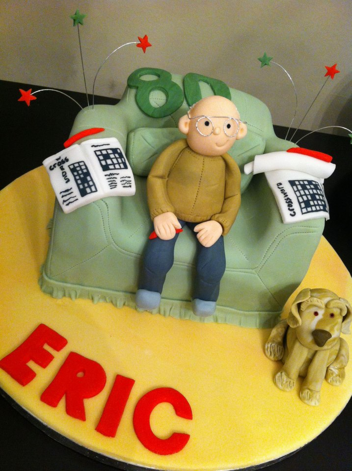Old Man Couch Cake