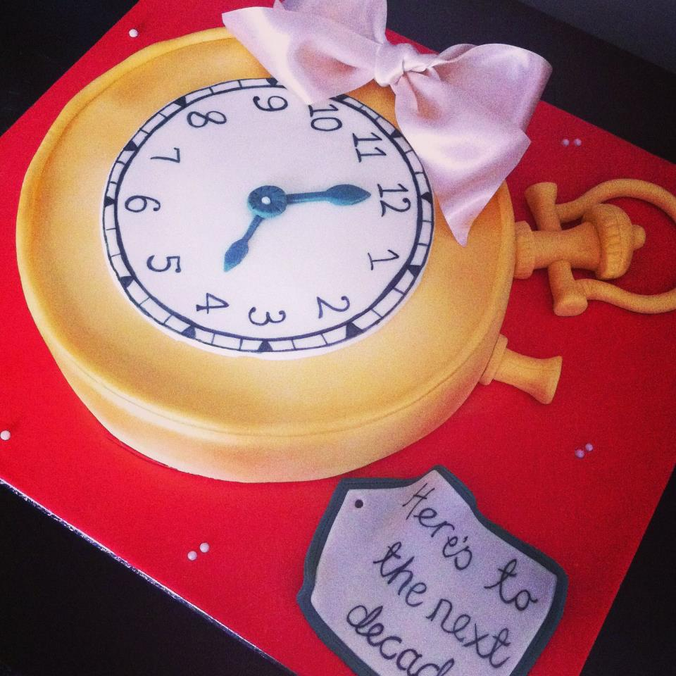 Stop Watch Cake