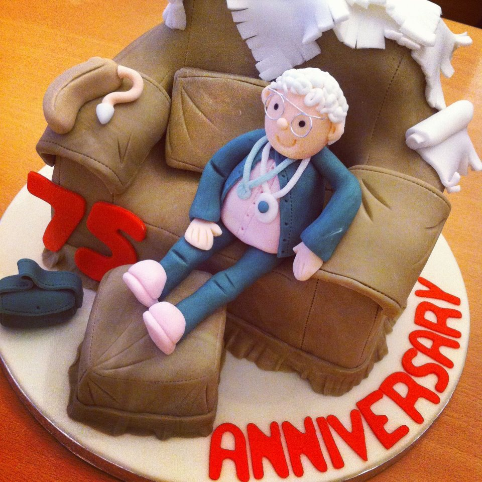Couch Anniversary Cake