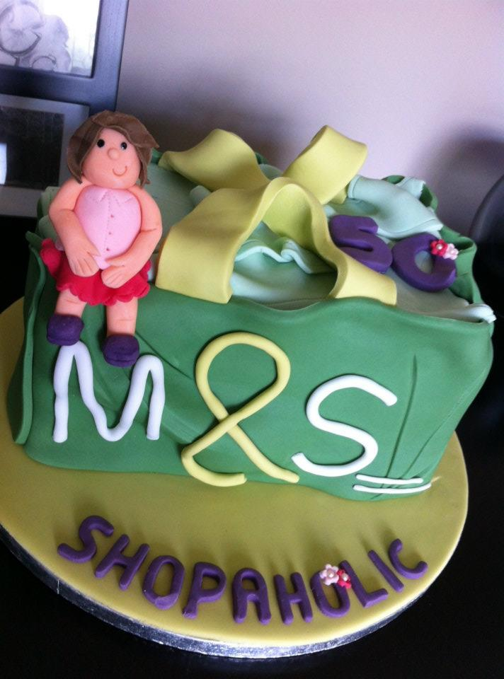 Marks And Spencers Shopping Bag Cake
