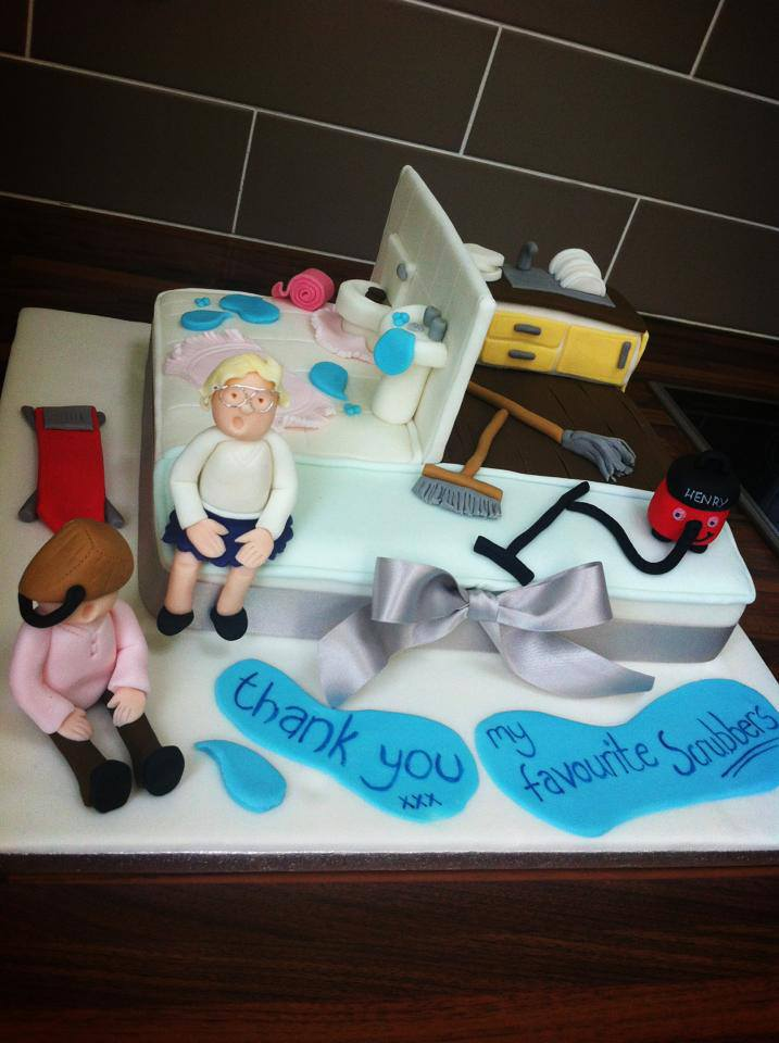 HOUSE CLEANING CAKE
