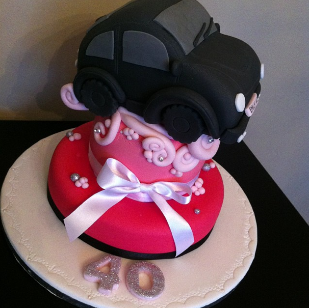 VW Beatle Cake Licky Lips Cakes Liverpool
