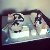 Graduation Cake. Licky Lips Cakes liverpool