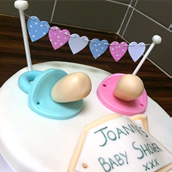 Baby Shower Cake. Licky Lips Cakes Liverpool