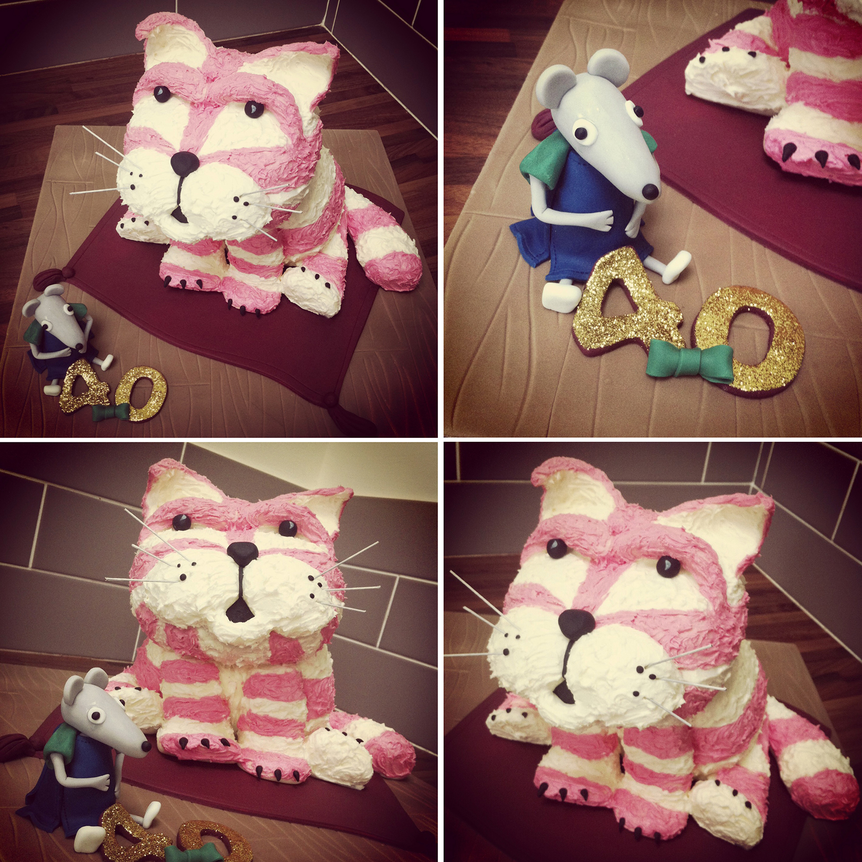 Bagpuss Cake Licky Lips Cakes Liverpool