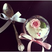 Personalised Vintage Spoon And Cupcake Licky Lips Cakes Liverpool