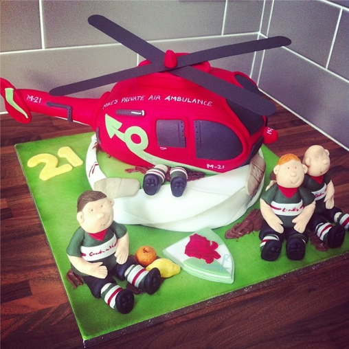 Rugby Cake Licky Lips Cakes Liverpool