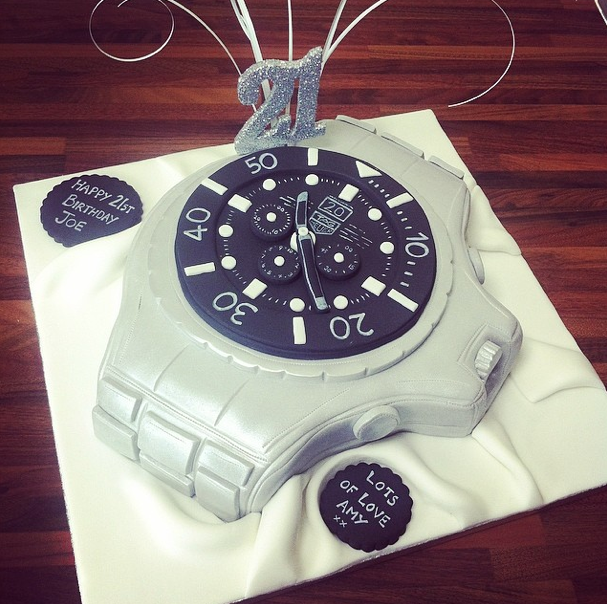 Tag Heuer Watch Cake 2 Licky Lips Cakes Liverpool