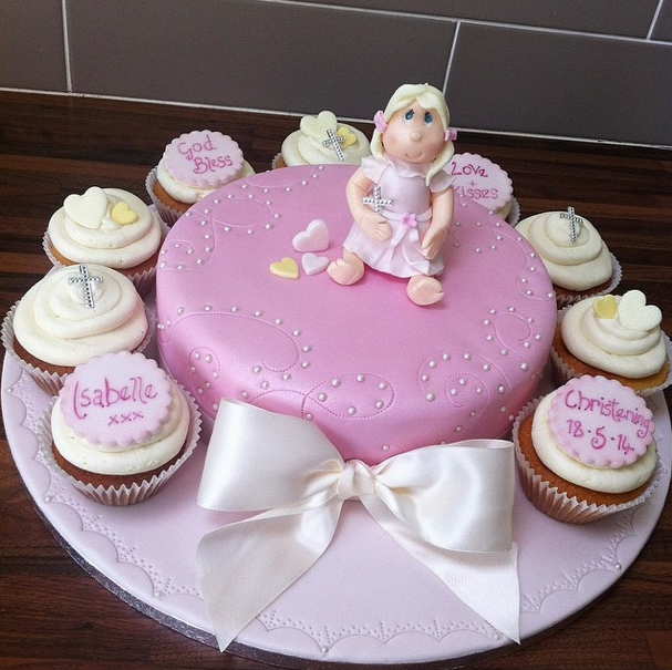 Christening Cake Licky Lips Cakes Liverpool