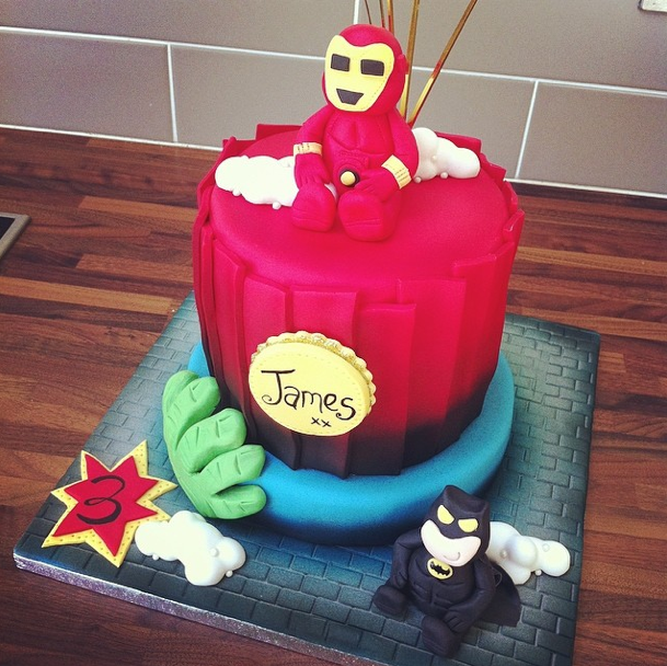Ironman Cake Licky Lips Cakes Liverpool