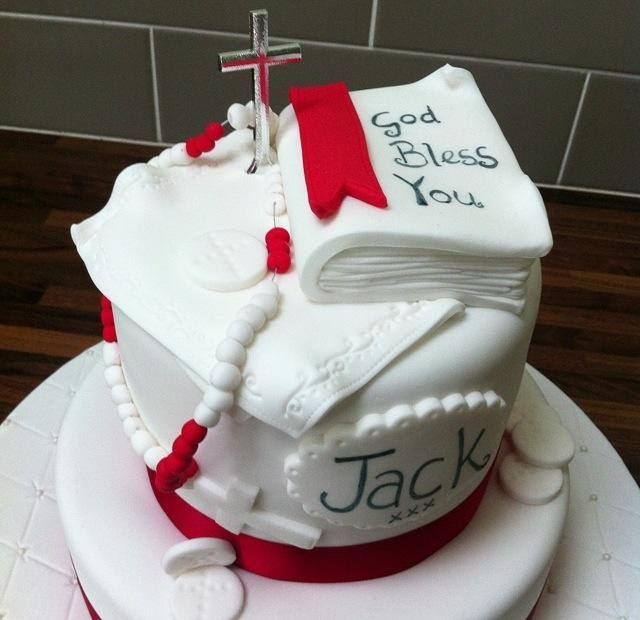 Communion Confirmation Cake Cake Licky Lips Cakes Liverpool 2