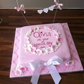 Floral Pink Cake Licky Lips Cakes Liverpool