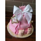 Baby Shower - Licky lips cakes liverpool