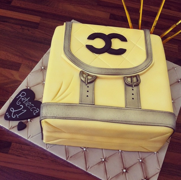 Handbag cake - Licky lips cakes liverpool