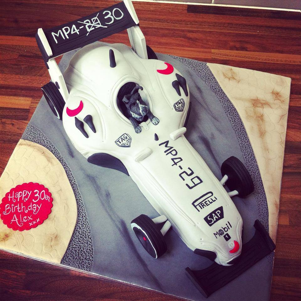F1 Car - licky lips cakes liverpool 2