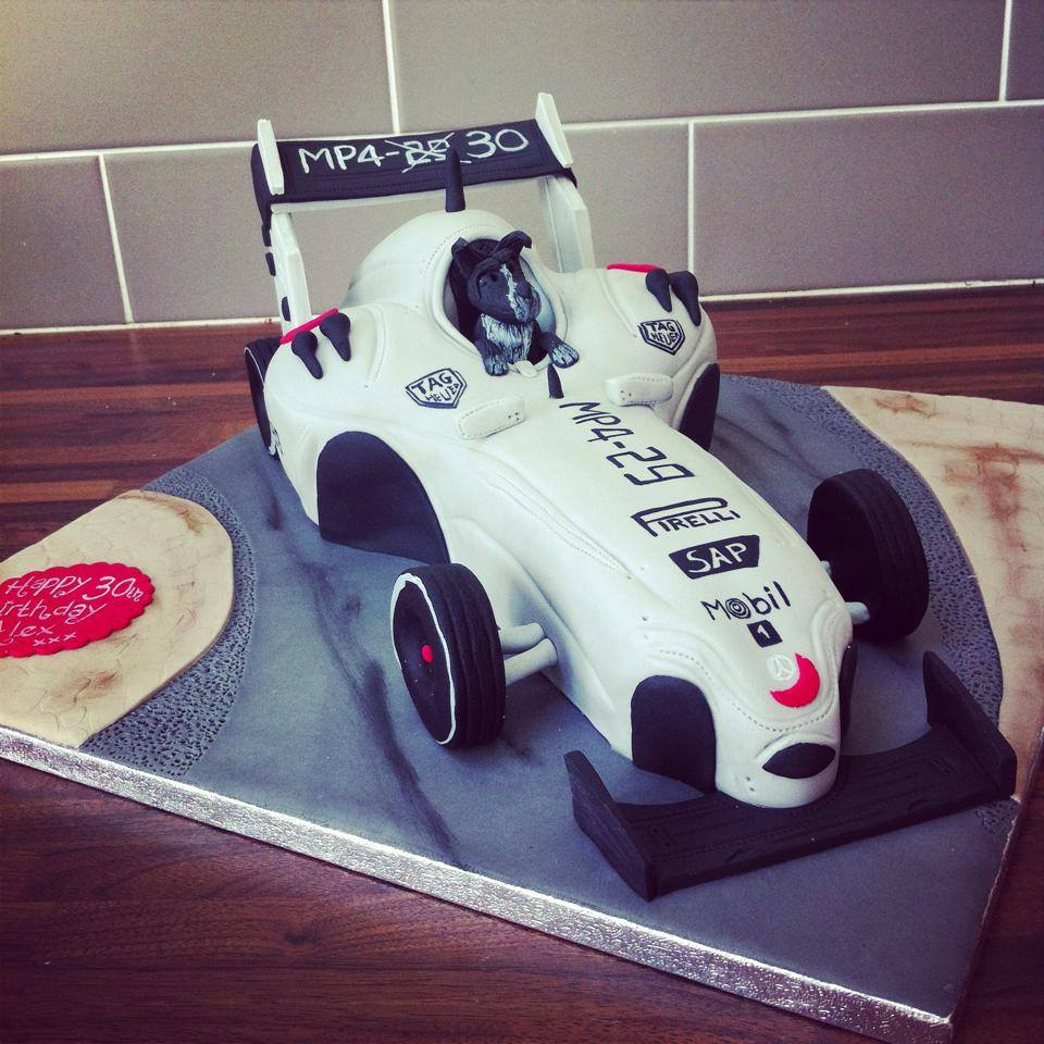 F1 Car - licky lips cakes liverpool 3