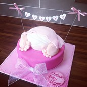 Baby Shower Cake Licky Lips Cakes Liverpool