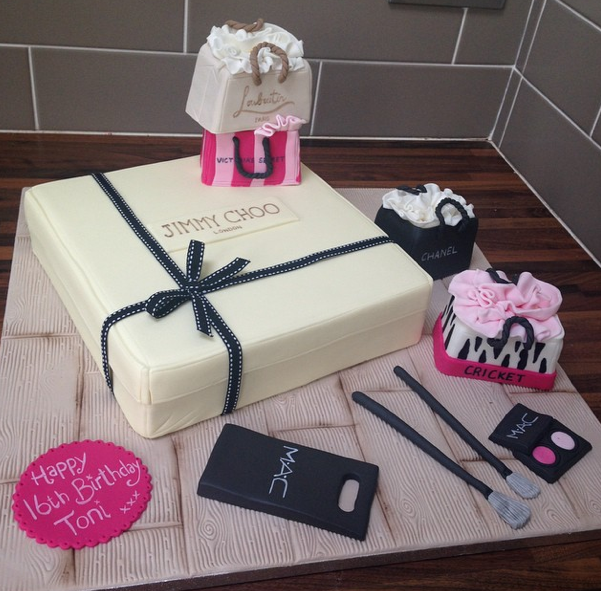 Jimmy Choo Shopping Cake Licky Lips Cakes Liverpool