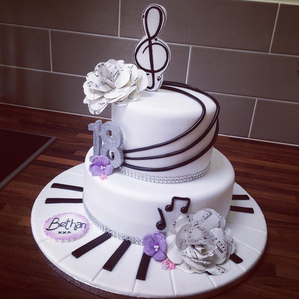 Musical Piano Theme Cake Licky Lips Cakes Liverpool