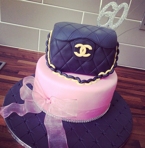 Licky Lips Cakes Liverpool Womens Cake Chanel Handbag Cake