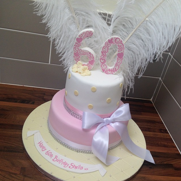 Licky Lips Cakes Liverpool Womens Cake 60Th Cake