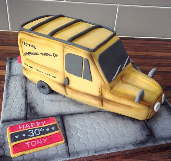 Licky Lips Cakes Liverpool Men Only Fools And Horses Cake