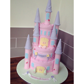 Licky Lips Cakes Liverpool Religious Christening Castle Princess