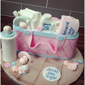 Licky Lips Cakes Liverpool Babyshower Cake