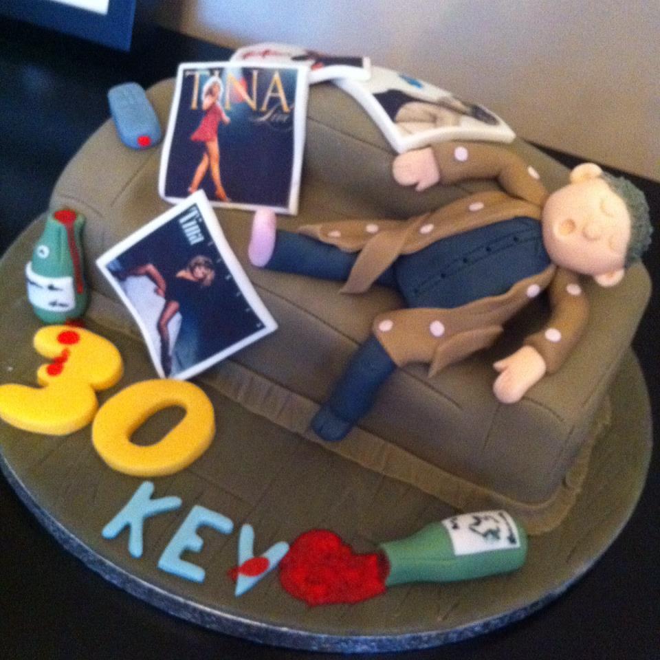 Tina Turner Birthday Cake