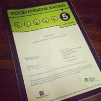 Food Hygiene Licky Lips Cakes Liverpool